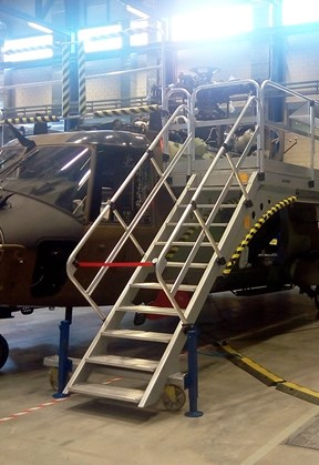 Special structure for Helicopters