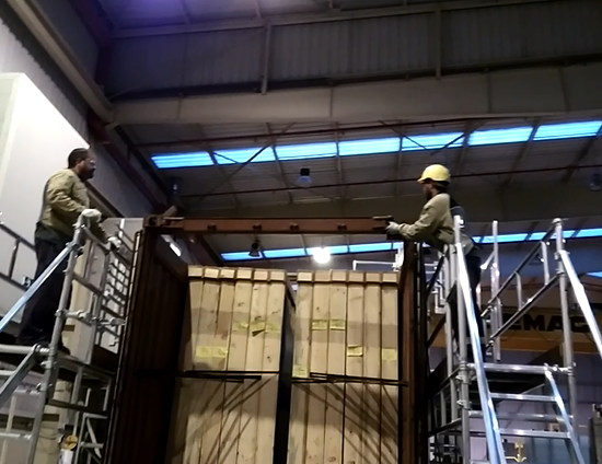 Special structure for Container access