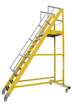 Escaleras de fibra de vidrio svelt - Escalera fibra de vidrio ...